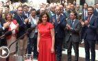 El PP exhibe su poder territorial en la toma de posesión de Isabel Díaz Ayuso