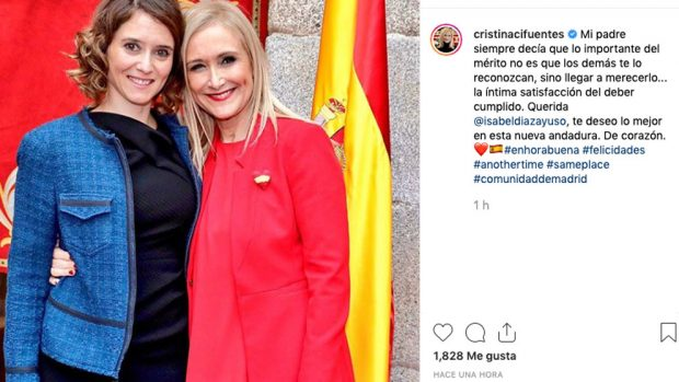 cristina-cifuentes-isabel-diaz-ayuso-instagram