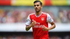 Dani Ceballos con el Arsenal. (Getty)