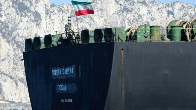 Parte el petrolero iraní detenido en Gibraltar
