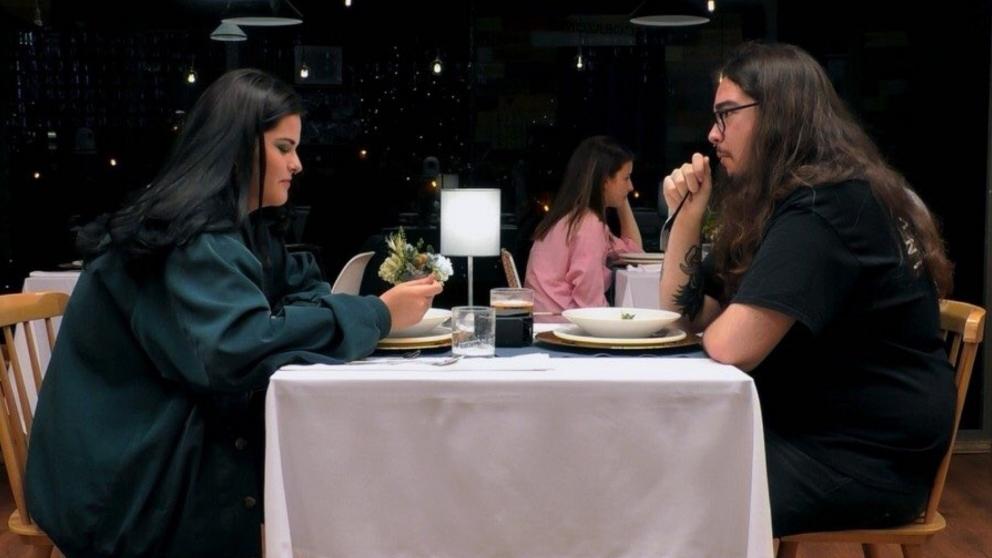 Claudia y su escatológica cita de 'First Dates'