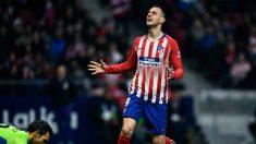 Nikola Kalinic en un partido ante el Espanyol (AFP)
