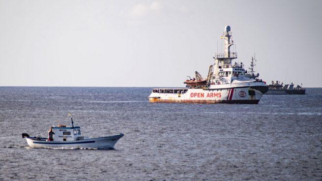 El Open Arms recibe permiso para la evacuación de ocho personas que necesitan asistencia urgente