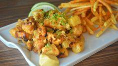 Receta de Patatas con tofu a la mexicana
