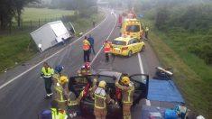 Accidente en Tarragona @Emergencias