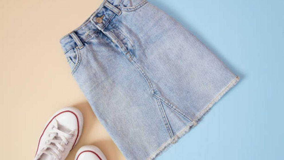 Aprende cómo personalizar una falda tejana