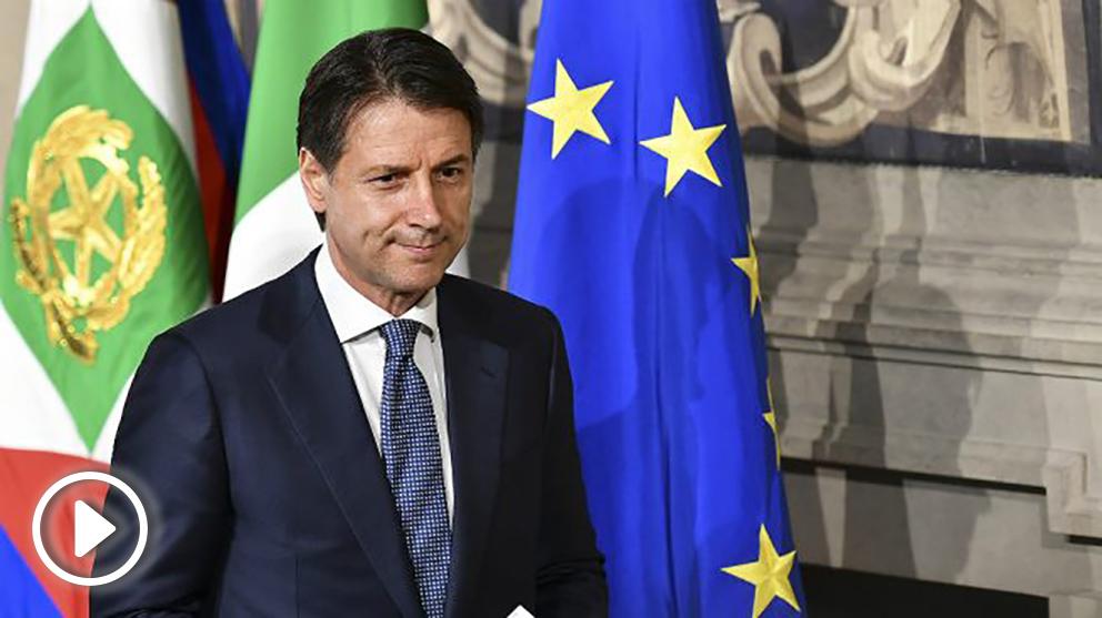 Giuseppe Conte, primer ministro italiano
