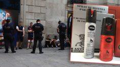Se dispara le vente de sprays de gas pimienta ante la inseguridad en Barcelona.