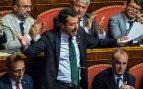 Salvini responde a Conte: «Lamento que hayas tenido que aguantarme durante un año»