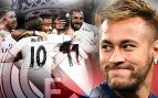 El vestuario del Real Madrid bendice a Neymar