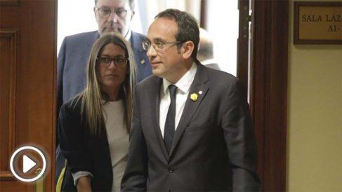 Josep Rull en el Congreso de los Diputados (Foto: Francisco Toledo).