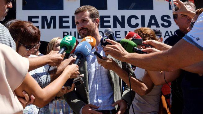 Pablo Casado en Gran Canaria @EFE
