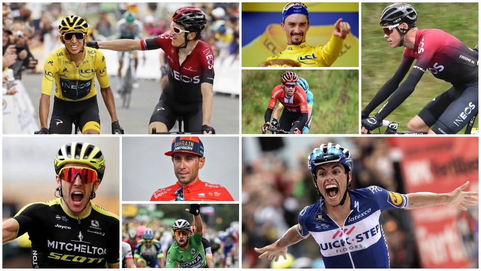 La Vuelta a España echará de menos a los últimos ganadores del Tour de Francia.