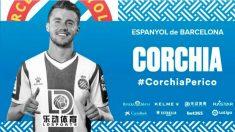 Sébastien Corchia, nuevo fichaje del Espanyol (@RCDEspanyol)