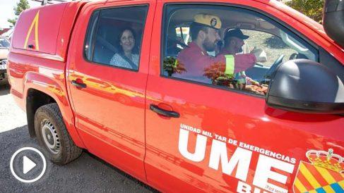 Agentes de la UME en Gran Canaria @EFE