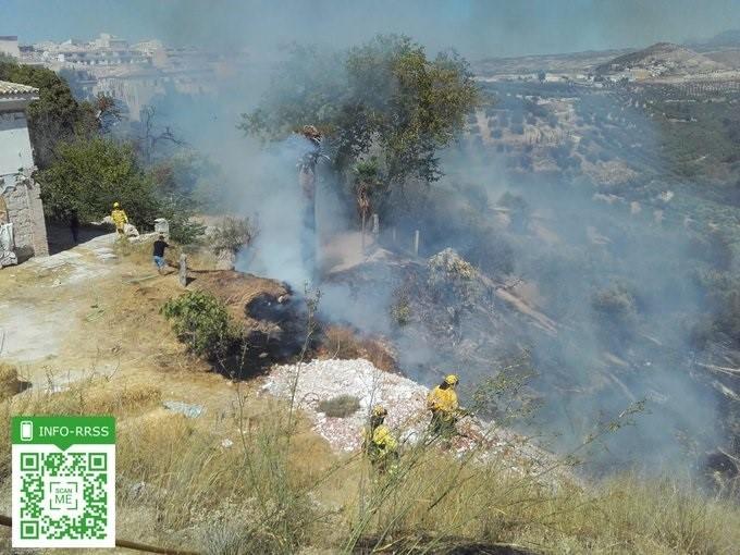 Incendio de Estepona @Info