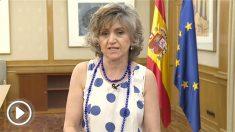 La ministra de Sanidad,  María Luisa Carcedo .
