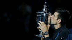 Novak Djokovic, ganador del US Open en 2018 (Getty).