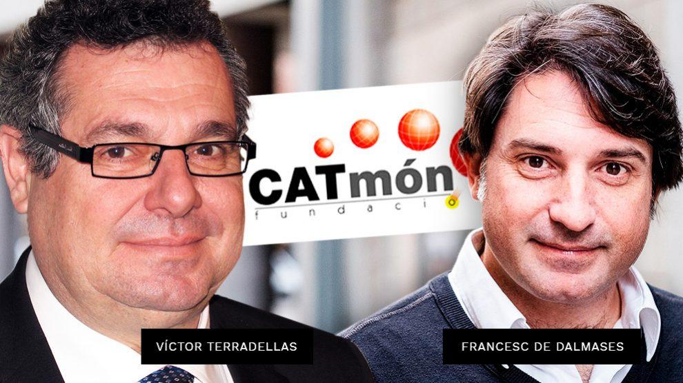 Los máximos responsables de la Fundación CATMón, Víctor Terradellas y Francesc de Dalmases.