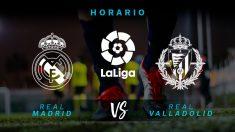 Liga Santander 2019-2020: Real Madrid – Valladolid | Horario del partido de fútbol de la Liga Santander.