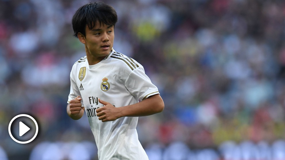 Kubo jugará cedido en el Valladolid. (AFP)