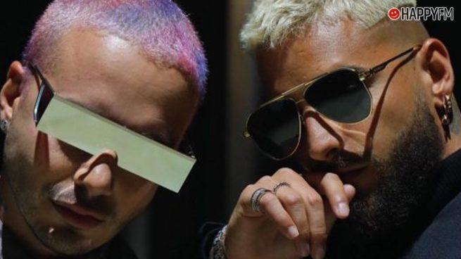 Maluma y J Balvin anuncian el título de su esperada colaboración 'Qué pena'