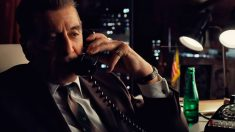 Al Pacino en un fotograma de la película 'The Irishman', dirigida por Martin Scorsese y producida por Netlflix.