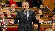 Carlos Carrizosa, presidente de C's en el Parlamento catalán. (Ep)
