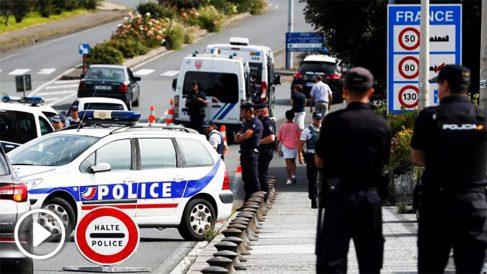 Despliegue policial para la cumbre del G-7 en Biarritz.