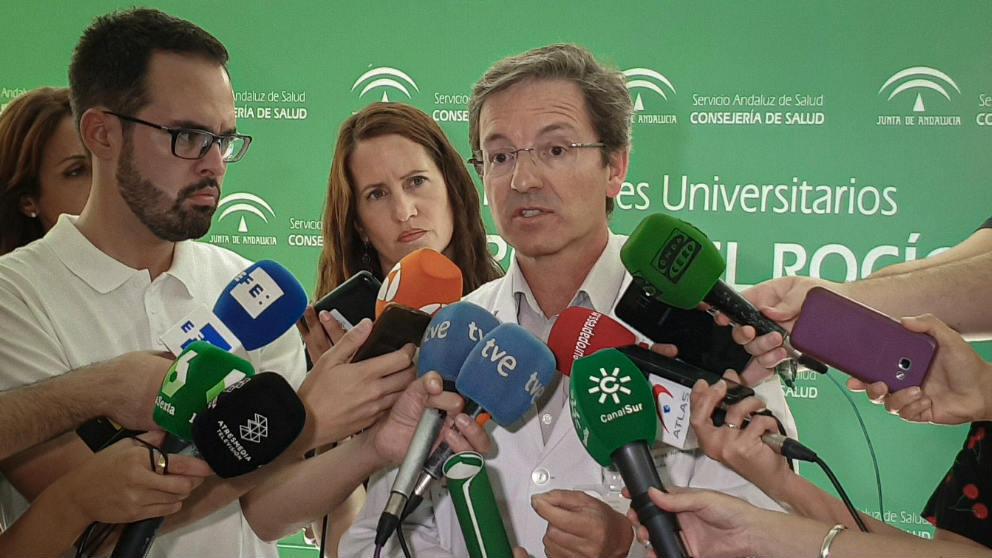 José Miguel Cisneros, portavoz de la Consejería de Salud de Andalucia.