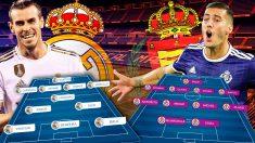 Real Madrid y Valladolid se enfrentan en el Bernabéu.