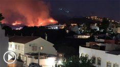 Incendios en Marbella (Foto: @pepebernal)