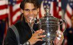 Santana, Orantes, Arantxa y Nadal, los únicos españoles que han triunfado en el US Open
