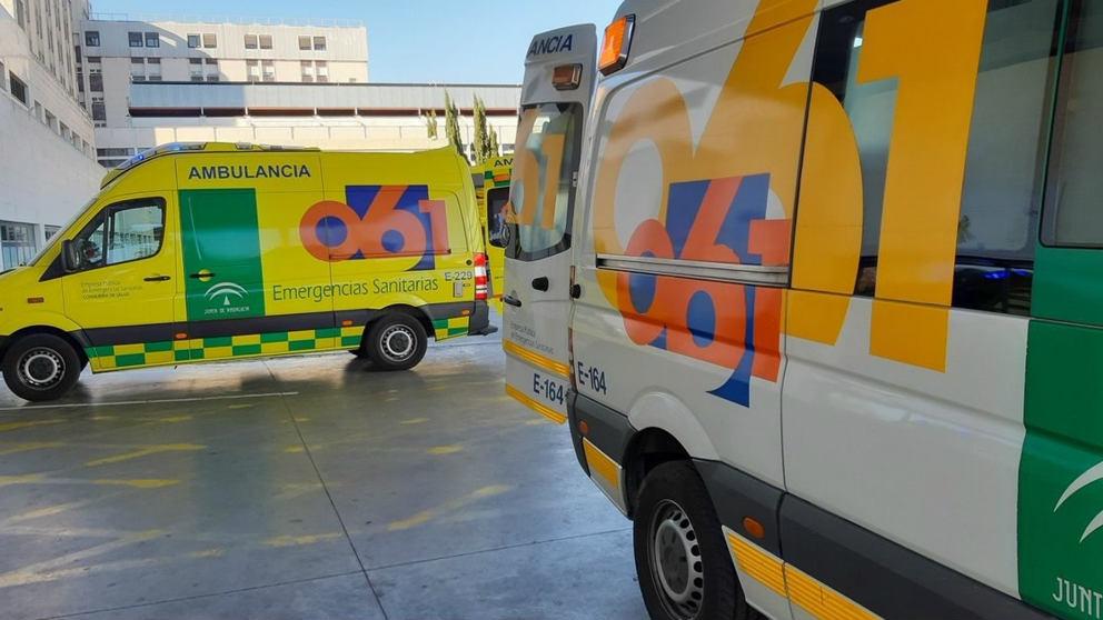 Ambulancias de la Junta de Andalucía.