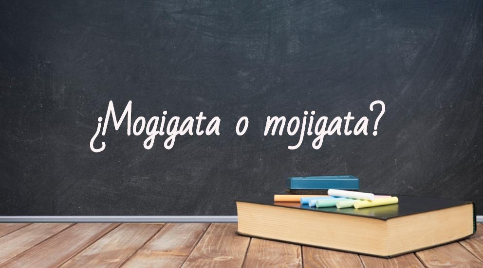 Se escribe mogigata o mojigata