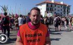 Miles de personas se manifiestan entre Hendaya e Irún contra la cumbre del G-7