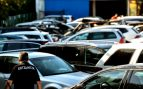 Un incendio en una empresa de alquiler de vehículos de Zamudio deja 21 coches calcinados
