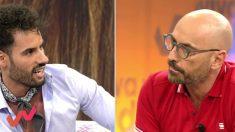 Asraf Beno y Diego Arrabal en 'Viva la vida'