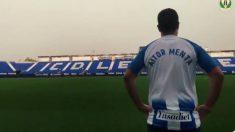 El Leganés 'ficha' a Aitor Menta (@CDLeganes)