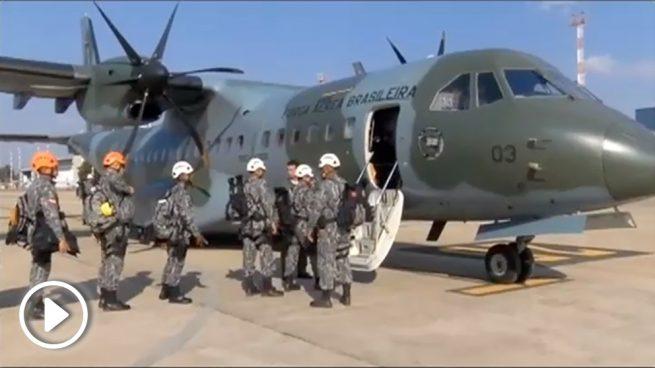 Bolsonaro envía aviones militares para luchar contra los incendios del Amazonas