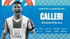 Jonathan Calleri, nuevo fichaje del Espanyol (Real Club Deportivo Espanyol)