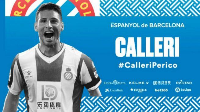 Calleri, nuevo jugador del Espanyol — Oficial