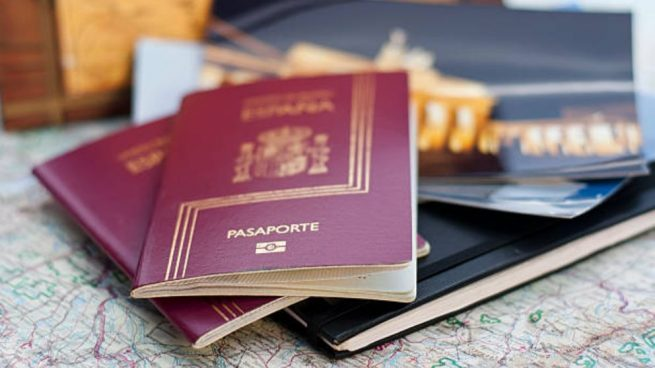 Pasaportes.