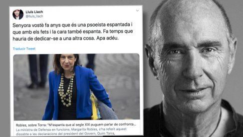 El independentista Lluís Llach y su descalificación a la ministra de Defensa.