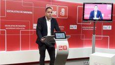El secretario de Organización del PSN, Ramón Alzórriz. Foto: Europapress