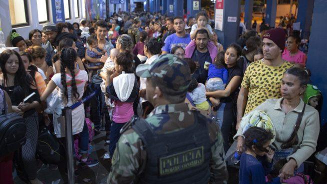 Más de 11.000 venezolanos han puesto rumbo a Ecuador en los últimos días