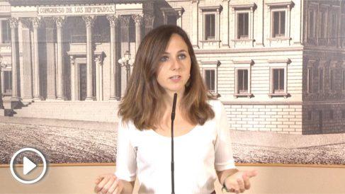 Podemos cambia su versión en apenas una hora sobre la comparecencia urgente de Sánchez en el Congreso.