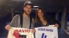 Sergio Ramos y Claudio Caniggia (@Caniggiaclaudio)