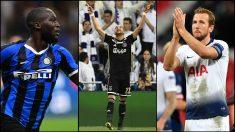 Los posibles rivales del Barcelona en el sorteo de la Champions League. (AFP)