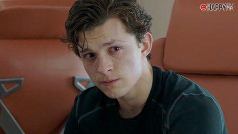 Tom Holland como Peter Parker en Spider-man: Lejos de casa